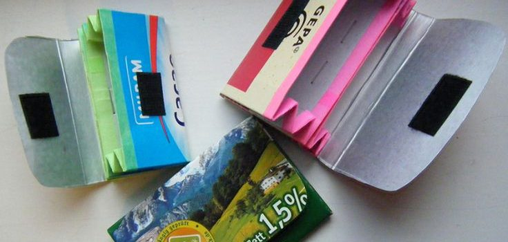 Upcycling-workshop: Portmonnaie und Stiftehalter oder Süssigkeitenbehälter